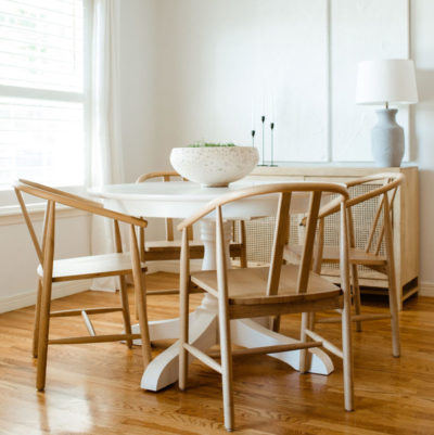 magnolia target wooden dining chairs