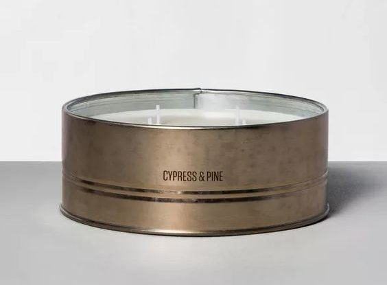 hearth and hand cypress and pine candle
